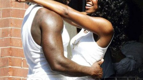 More Pics: 50 Cent & Kelly Rowland On Set Of 'Baby By Me'