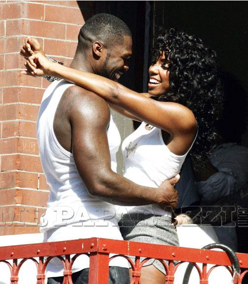 kelly 501 More Pics: 50 Cent & Kelly Rowland On Set Of Baby By Me