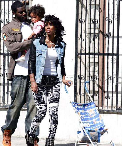 kelly 507 More Pics: 50 Cent & Kelly Rowland On Set Of Baby By Me