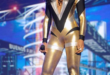 Kelly Rowland At MTV Latin Awards