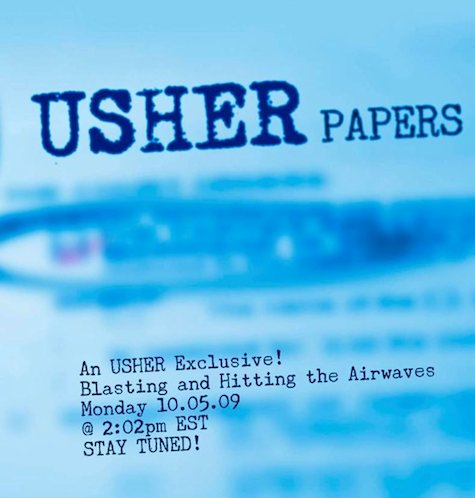 usher papers jive Usher To Serve Papers Up On October 5th