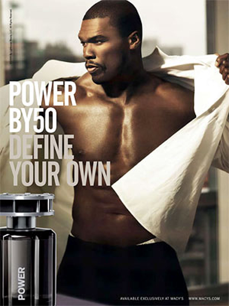 50 cent 4 50 Cent Power By 50 Frangrance Ad