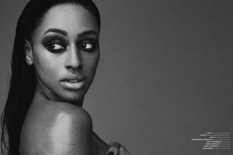 alex 7 Alexandra Burke Wonderland Photoshoot