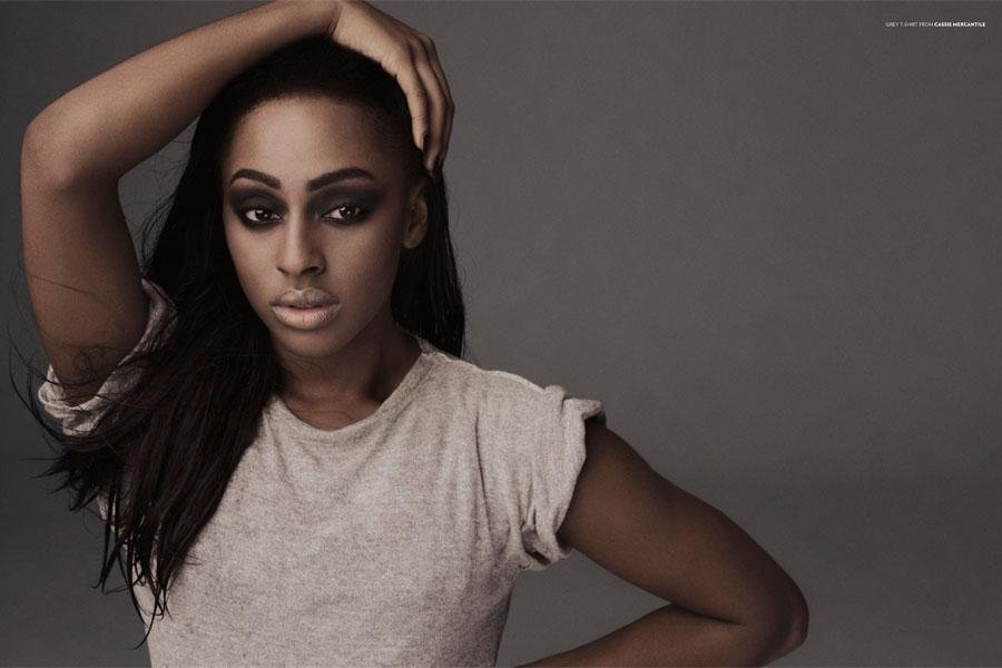alex3 Alexandra Burke Wonderland Photoshoot
