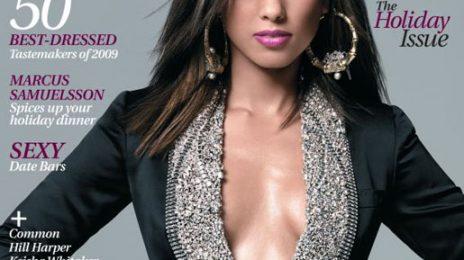 Alicia Keys Covers Uptown Magazine
