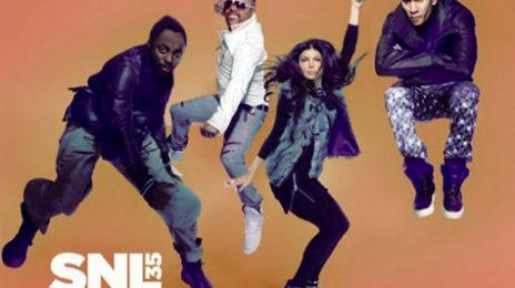 Black Eyed Peas Perform On SNL
