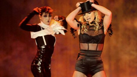 Britney Spears Rehearses For 'Femme Fatale Tour'