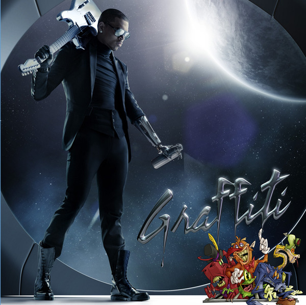 chris brown graffiti Chart News: Chris Brown Disappoints // Rihanna Drops Out Of Top 20