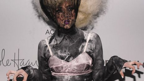 Hot Shots: Lady GaGa Goths It Up At ACE Awards