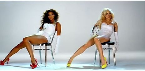 Pics: Beyonce & Lady GaGa - 'Video Phone' Video