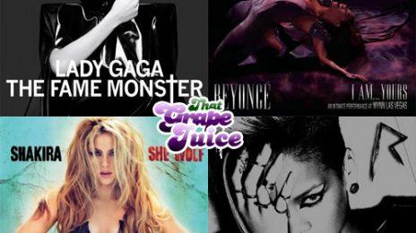 Lady GaGa, Beyonce, Shakira & Rihanna: Which Will You Be Buying?