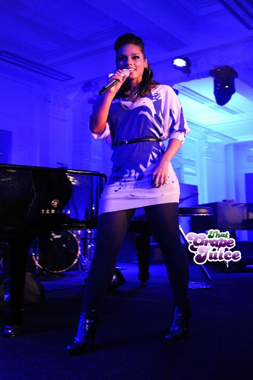 Alicia Keys Album Launch