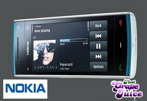 Nokia X6 1 Competition: Win A Nokia X6 Comes With Music Phone!