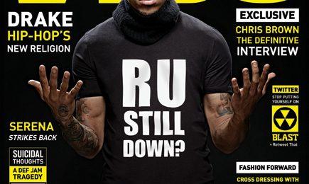 Chris Brown Covers VIBE