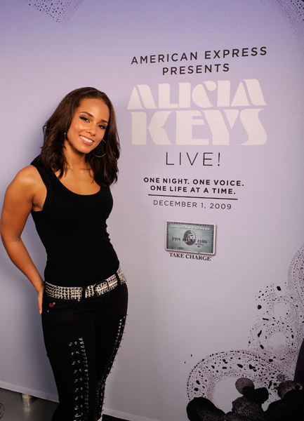 akeys amex 1 Alicia Keys World AIDS Day Youtube Concert