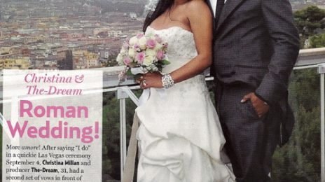 Christina Milian & The-Dream Wedding Pic