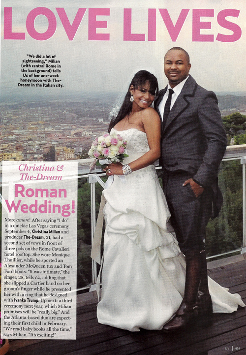 cmilli Christina Milian & The Dream Wedding Pic