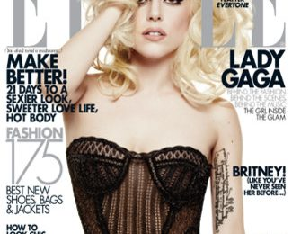 Lady GaGa Does Elle Magazine