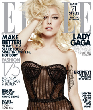 gaga elle Lady GaGa Does Elle Magazine