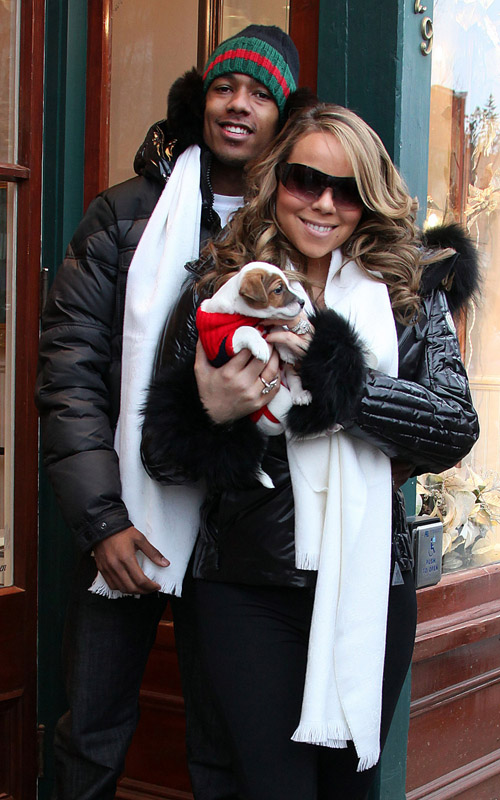 gg3 Hot Shots: Mariah Carey And Nick Cannon In Aspen