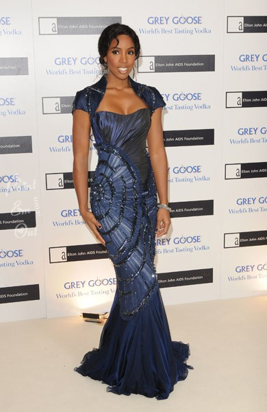k2 Hot Shots: Kelly Rowland At Elton John Charity Ball