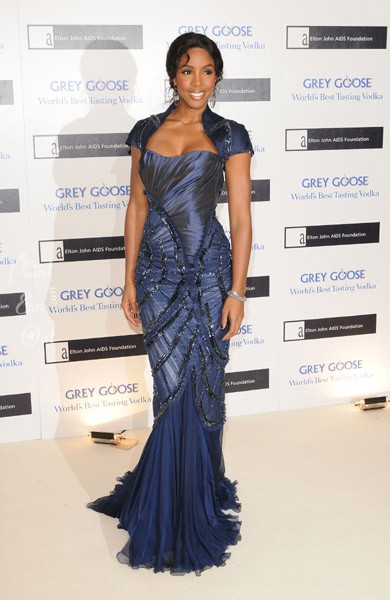 k3 Hot Shots: Kelly Rowland At Elton John Charity Ball