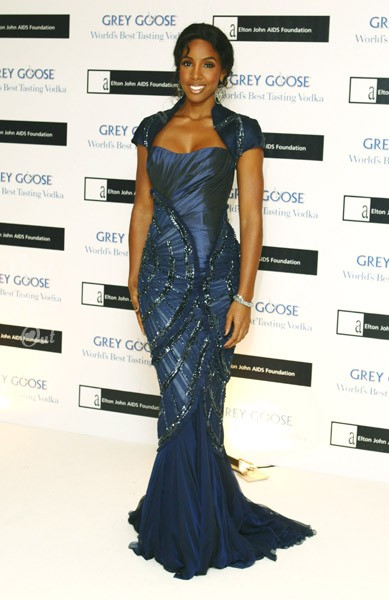 k4 Hot Shots: Kelly Rowland At Elton John Charity Ball