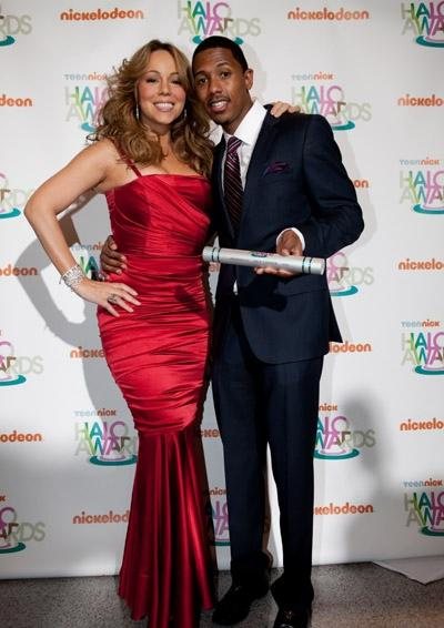 mq12 Hot Shots: Mariah Carey And Nick Cannon At Halo Awards
