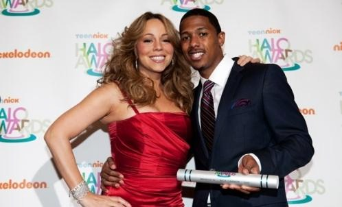 mq21 Hot Shots: Mariah Carey And Nick Cannon At Halo Awards