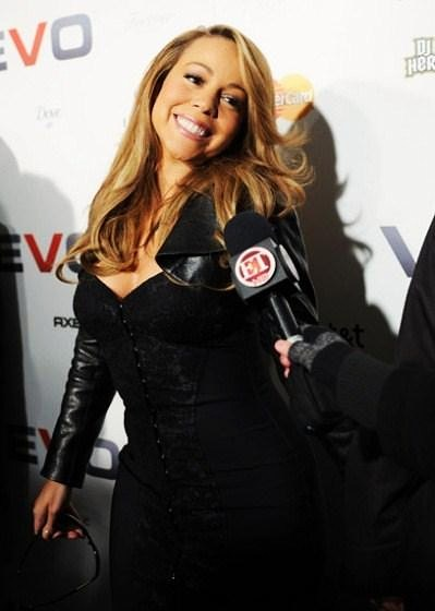 mq32 Hot Shots: Mariah Carey At VEVO Launch