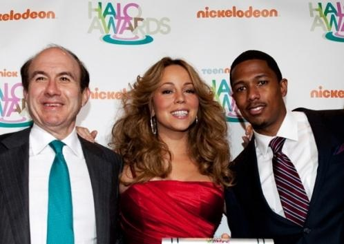 mq4 Hot Shots: Mariah Carey And Nick Cannon At Halo Awards