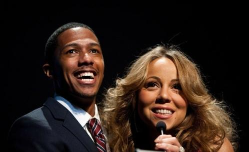 mq5 Hot Shots: Mariah Carey And Nick Cannon At Halo Awards