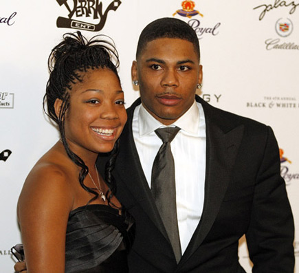 nelly and daughter Hot Shots: Janet, Solange, Vivica, Nelly, Kelly Rowland