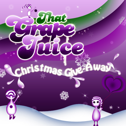 xmas7 Competition: That Grape Juice Christmas Give Away!