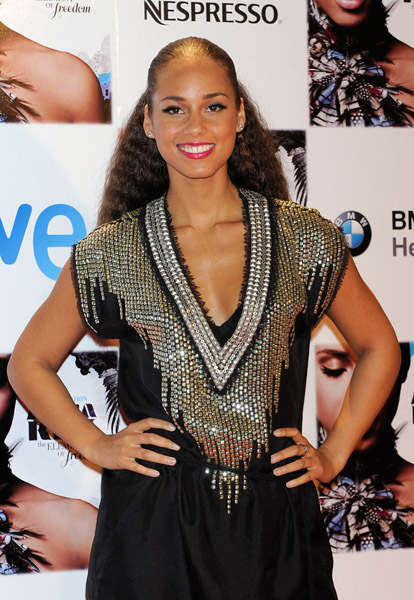 alicia madrid 1 Hot Shots: Alicia Keys In Spain