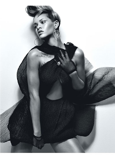 cess rihanna 06 v Rihanna Poses It Up In W Magazine (Hot!)