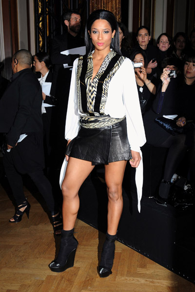 cici1 Hot Shots: Ciara At Givenchy Fashion Show