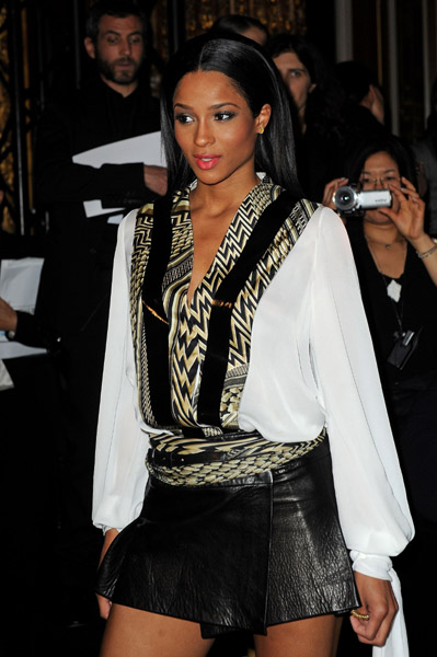 cici3 Hot Shots: Ciara At Givenchy Fashion Show