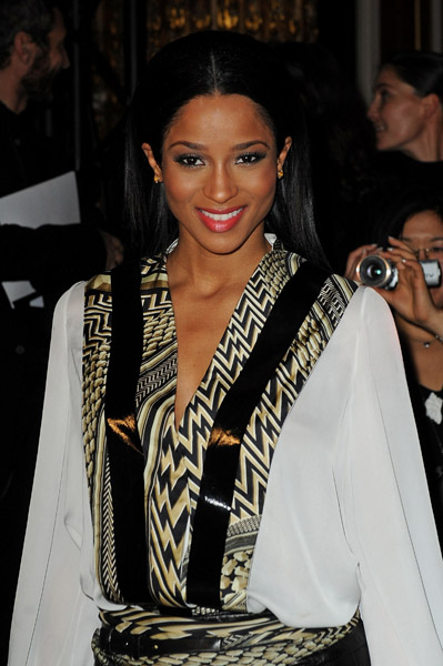 cici45 Hot Shots: Ciara At Givenchy Fashion Show