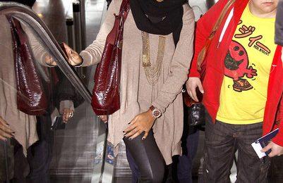 Hot Shots: Kelly Rowland At Nice Airport