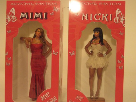mariah nicki doll 475x356 New Song: Mariah Carey   Up Out My Face (Ft. Nicki Minaj)