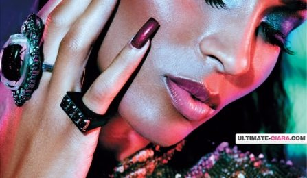 Hot Shots: Ciara Does L'Officiel Magazine