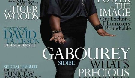 'Precious' Star Gabby Sidibe Covers Ebony