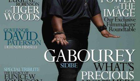 'Precious' Star Gabby Sidibe Covers Ebony