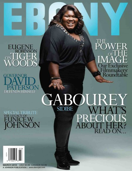 precious ebony Precious Star Gabby Sidibe Covers Ebony