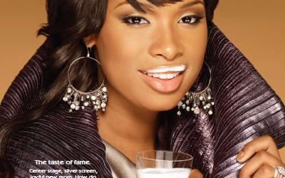 Jennifer Hudson's 'Got Milk?' Ads