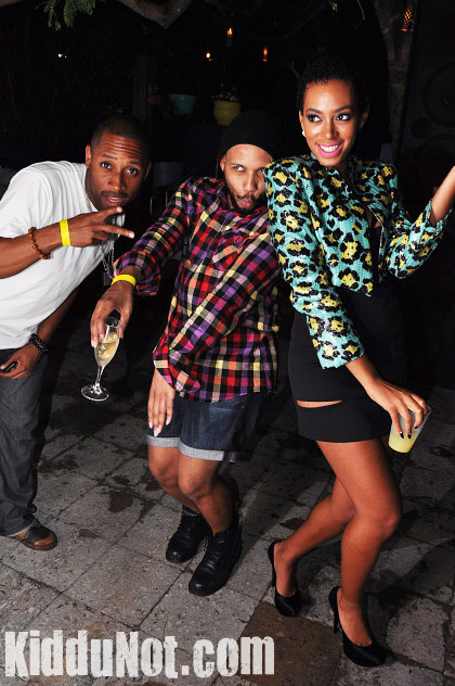 Solo32 Hot Shots: Solange Parties At Shore Club