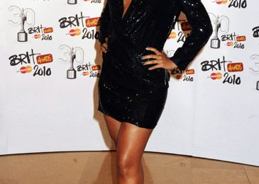 Hot Shots: Alicia Keys, Leona & Alexandra Burke At BRITS 2010