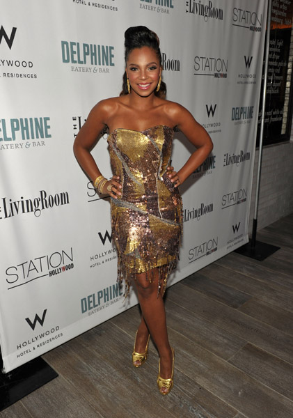 ashanti a Hot Shots: Ashanti At Delphine Launch