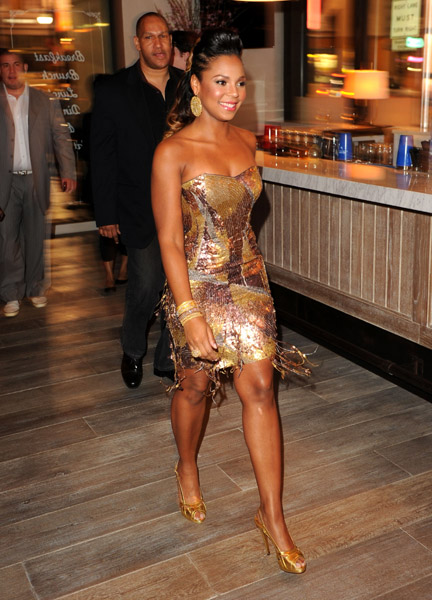 ashanti c Hot Shots: Ashanti At Delphine Launch